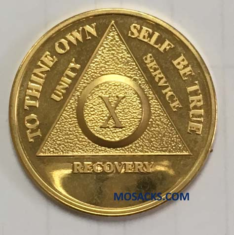 Anniversary Recovery Coin Gold Yearly 293-1126189503