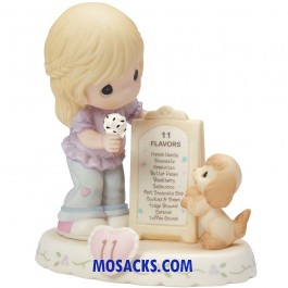 Precious Moments Growing in Grace Age 11 Blonde 5.25in 154038