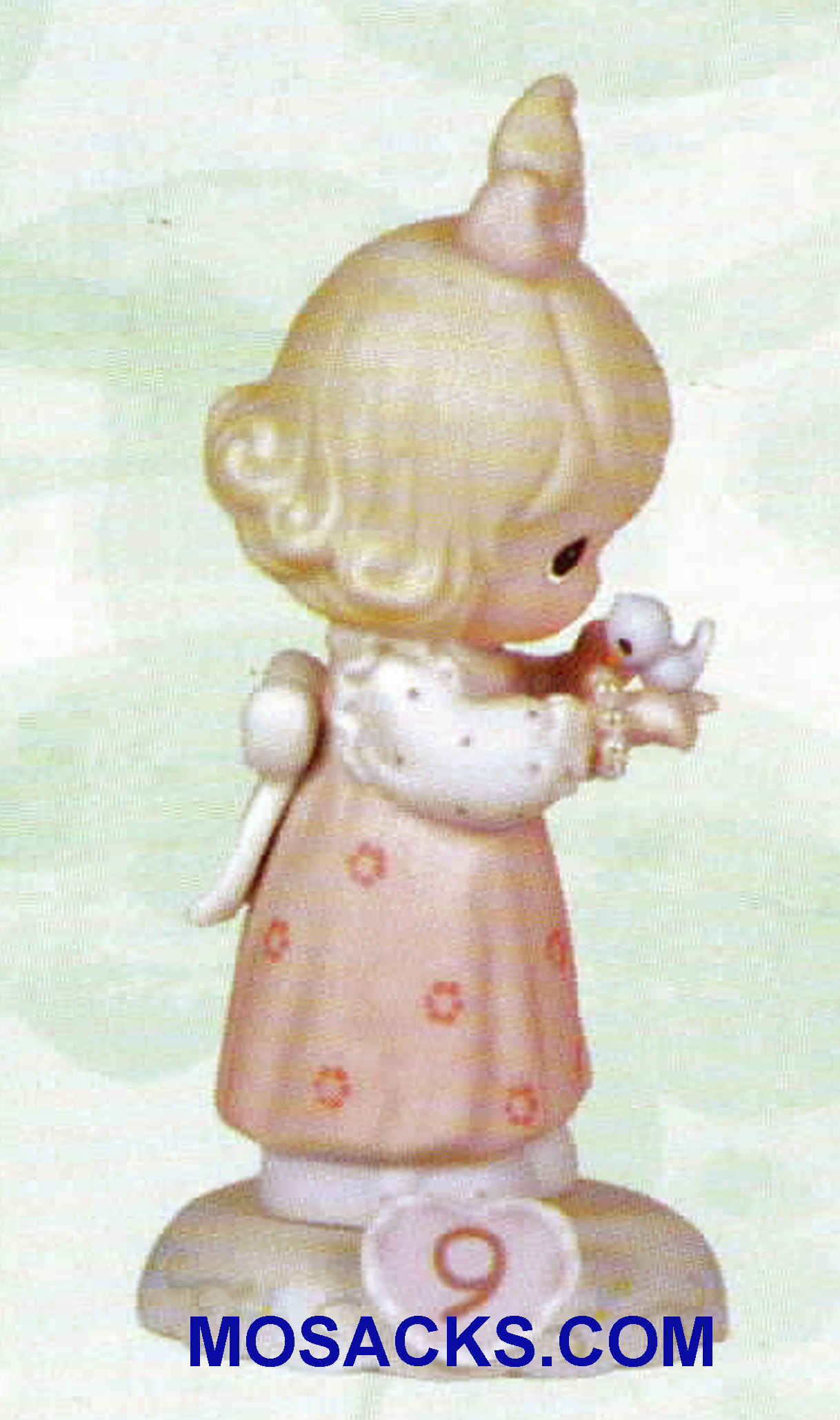 Precious Moments Original Growing in Grace Series Age 9 Blonde 5.25 inch 183865.