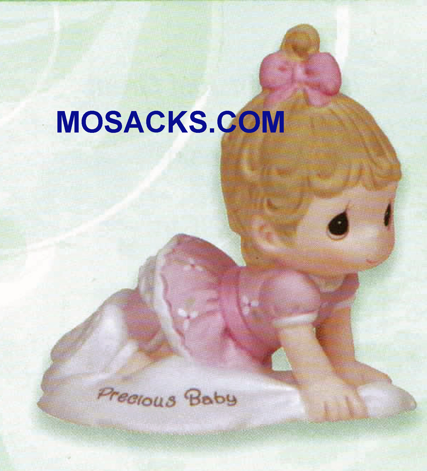 Precious Moments Growing in Grace Precious Baby Brunette 2.75 inch 133040B