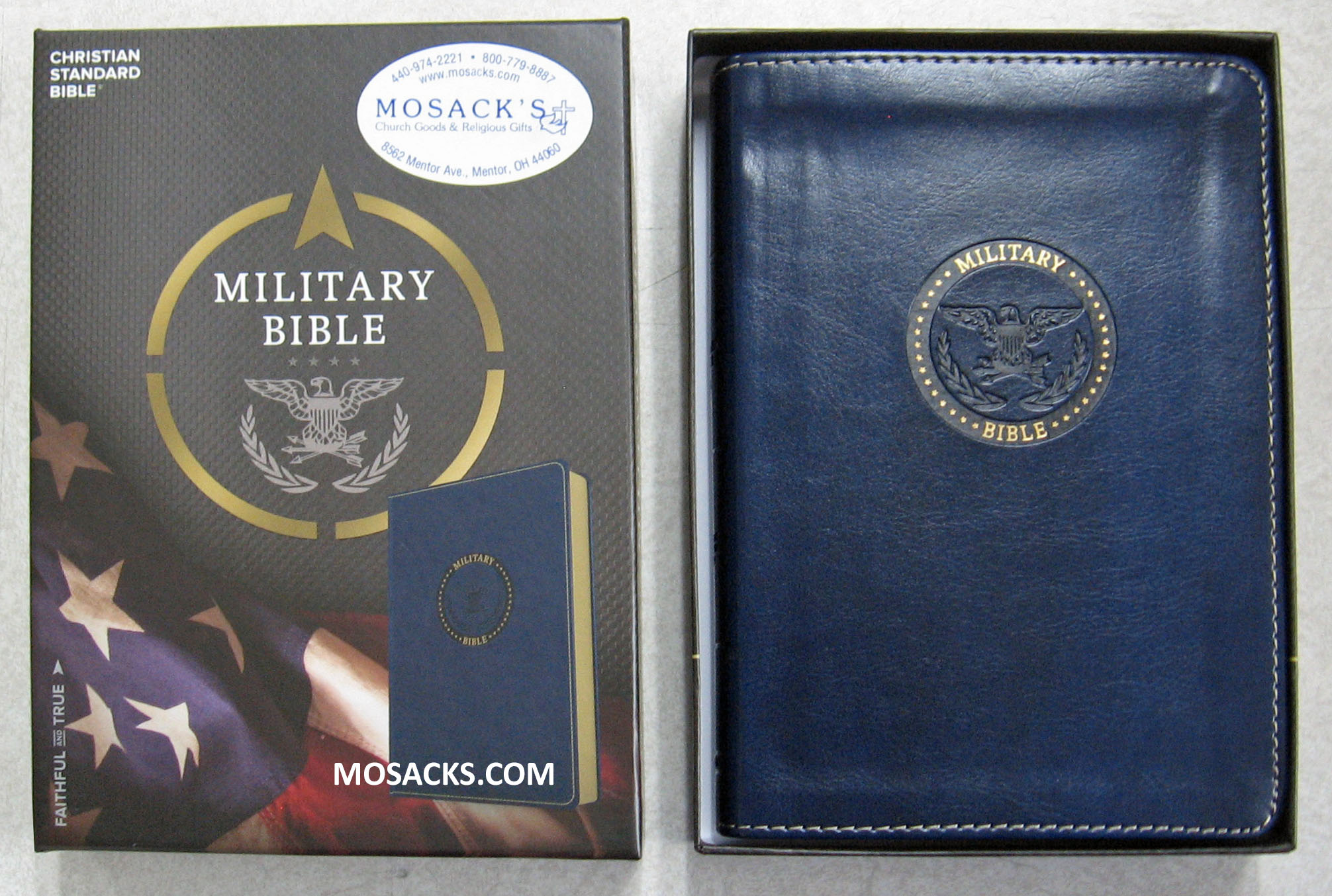 The Airman's Bible in Blue Simulated Leather 4-1/2 x 7 inch 9781466351786