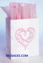 Heart Gift Bag Medium 353-5103630397