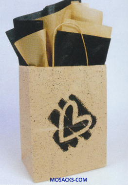 Heart Kraft Gift Bag Medium 353-5103630451