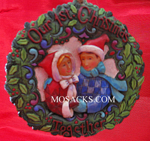 Heartwood Creek Our 1st Christmas Together Hanging Ornament #4011066