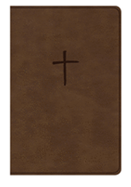 Holman NKJV Compact Bible, Value Edition Brown Leathertouch 9781535925648