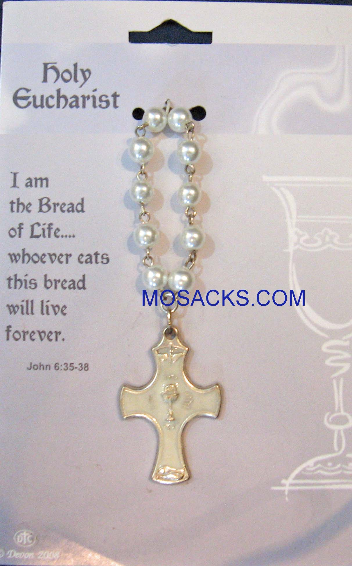 Holy Eucharist, One Decade Rosary, 08122C