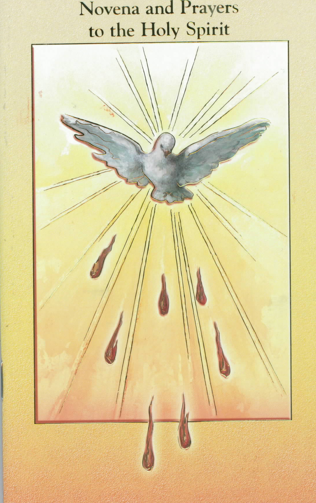 Novena and Prayers to the Holy Spirit Prayer Book 12-2432-651