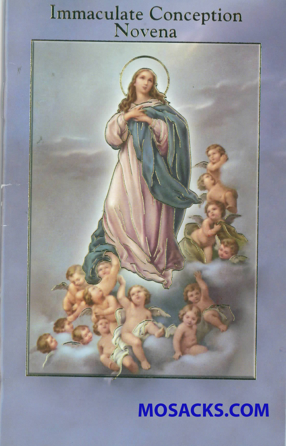 Immaculate Conception Novena Prayer Book with Prayers 12-2432-251