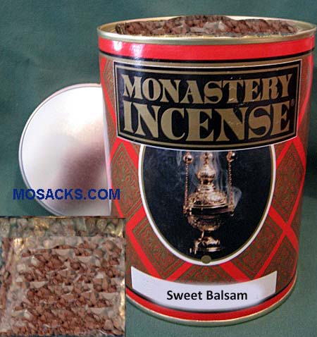 Monastery Incense Aromatic Gums 12 ounce Sweet Balsam-870