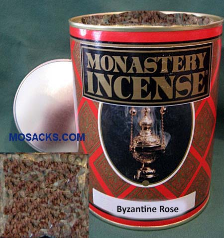 Monastery Incense Rose Fragrance 12 ounce Byzantine Rose -878