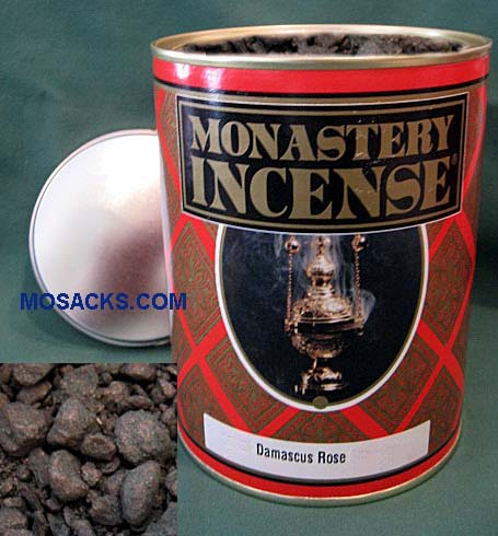 Monastery Incense Rose Fragrance 12 ounce Damascus Rose-860