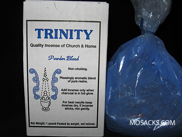 Incense, Trinity Brand Powder Blend, 1Pound Box