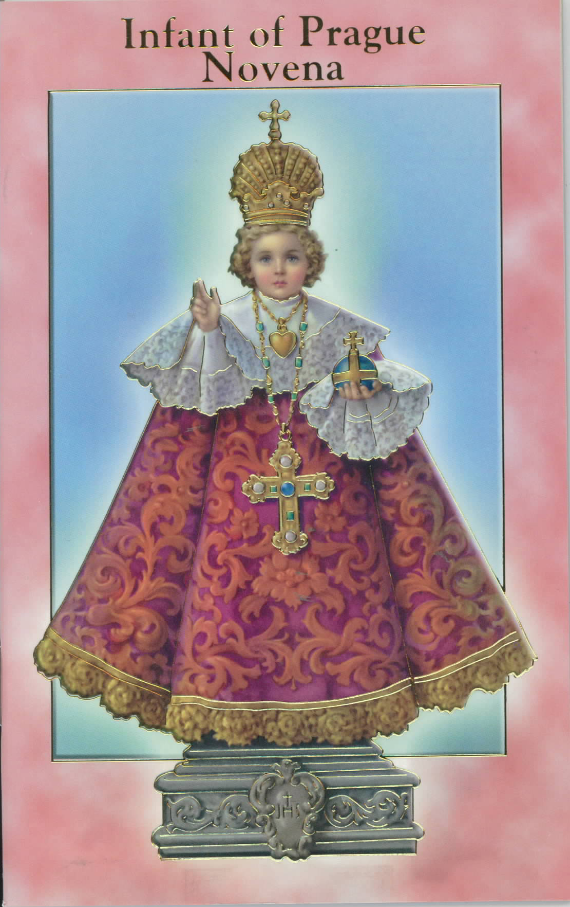 Infant of Prague Novena Prayer Book with Prayers 12-2432-107