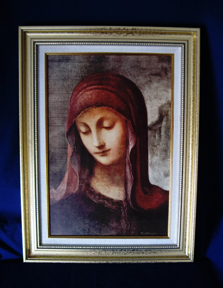 "Sr. Maria Innocentia, Hummel's Virgin Mary Framed Artwork #811-1223 14""x19"""