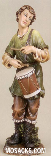 "Joseph's Studio 27"" Full Color Nativities Drummer Boy #36490"