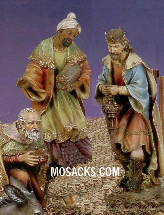 "Joseph's Studio 27"" Full Color Nativities Three Kings 3-Pc. Set #38010"