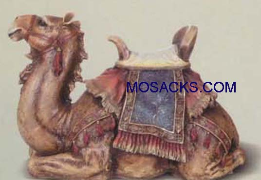"Joseph's Studio 27"" Full Color Nativities Seated Camel #35213"