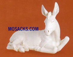 "Joseph's Studio 39"" Ivory Nativities Seated Donkey #38024"