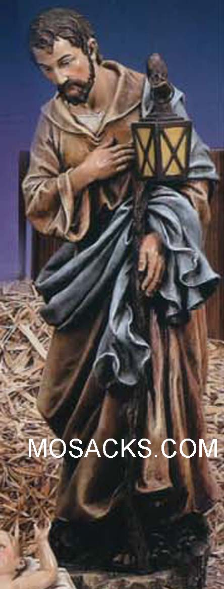 "Joseph's Studio 39"" Full Color Nativity Joseph #35023"