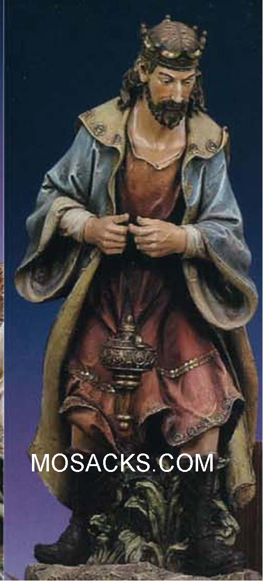 "Joseph's Studio 39"" Full Color Nativity King Melchior Standing #35092"