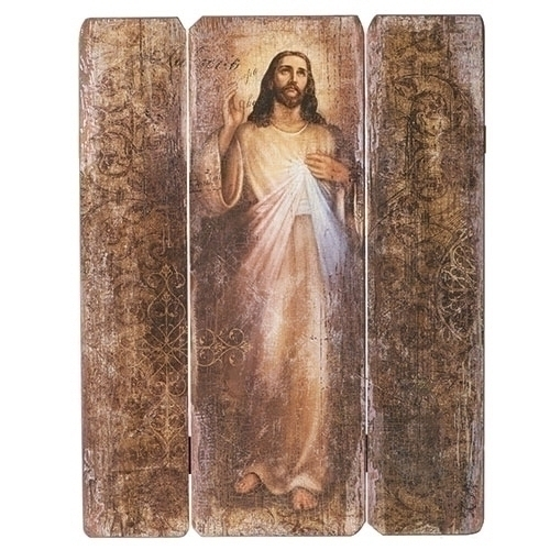 "Joseph's Studio Divine Mercy Decorative Panel 26"" 20-66267"