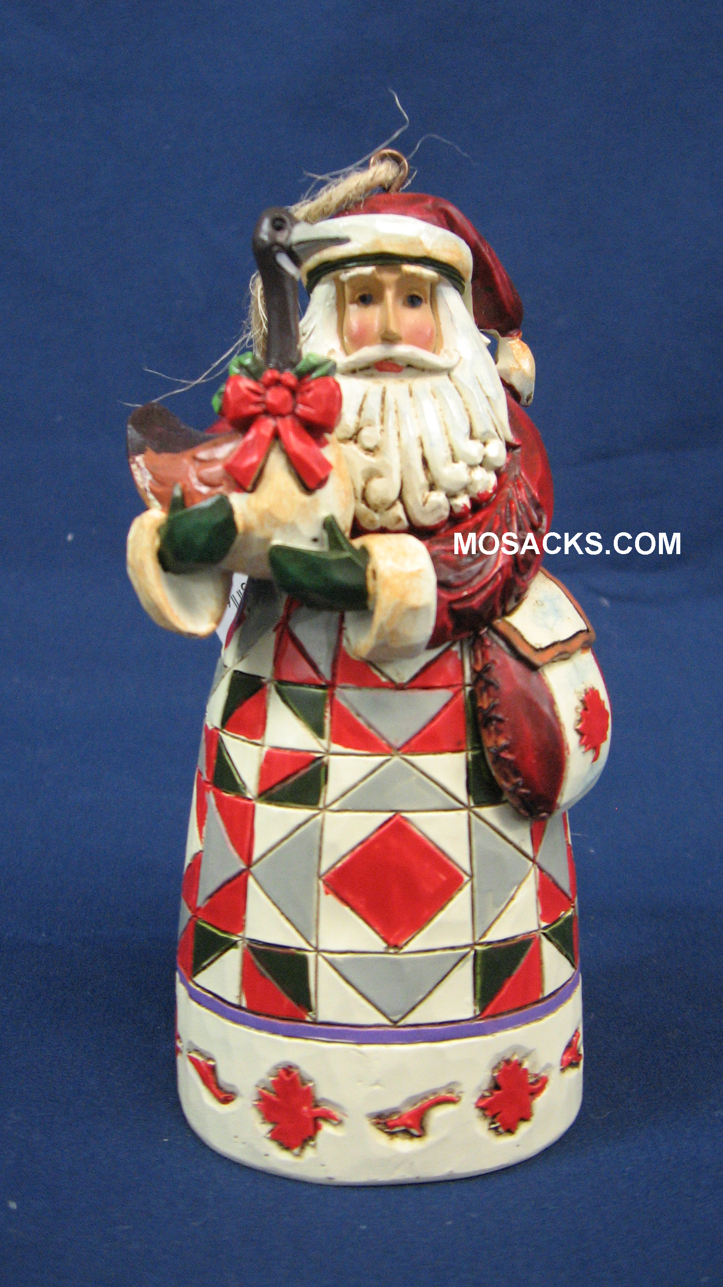 "Jim Shore Heartwood Creek 5"" Canada Santa 258-S4022940"