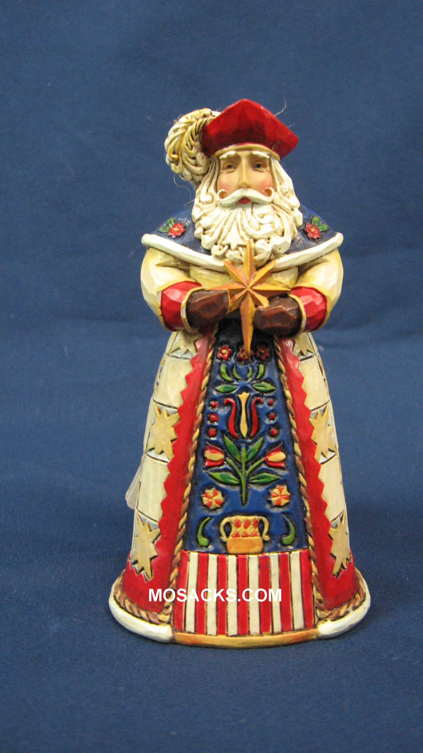 "Jim Shore Heartwood Creek 5"" Poland Santa 258-4022945"