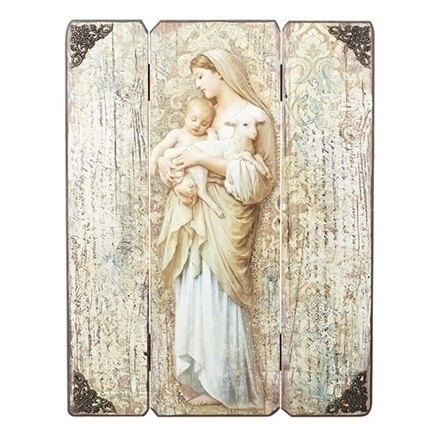 "Joseph's Studio Innocence Decorative Panel 17"" 20-600512"