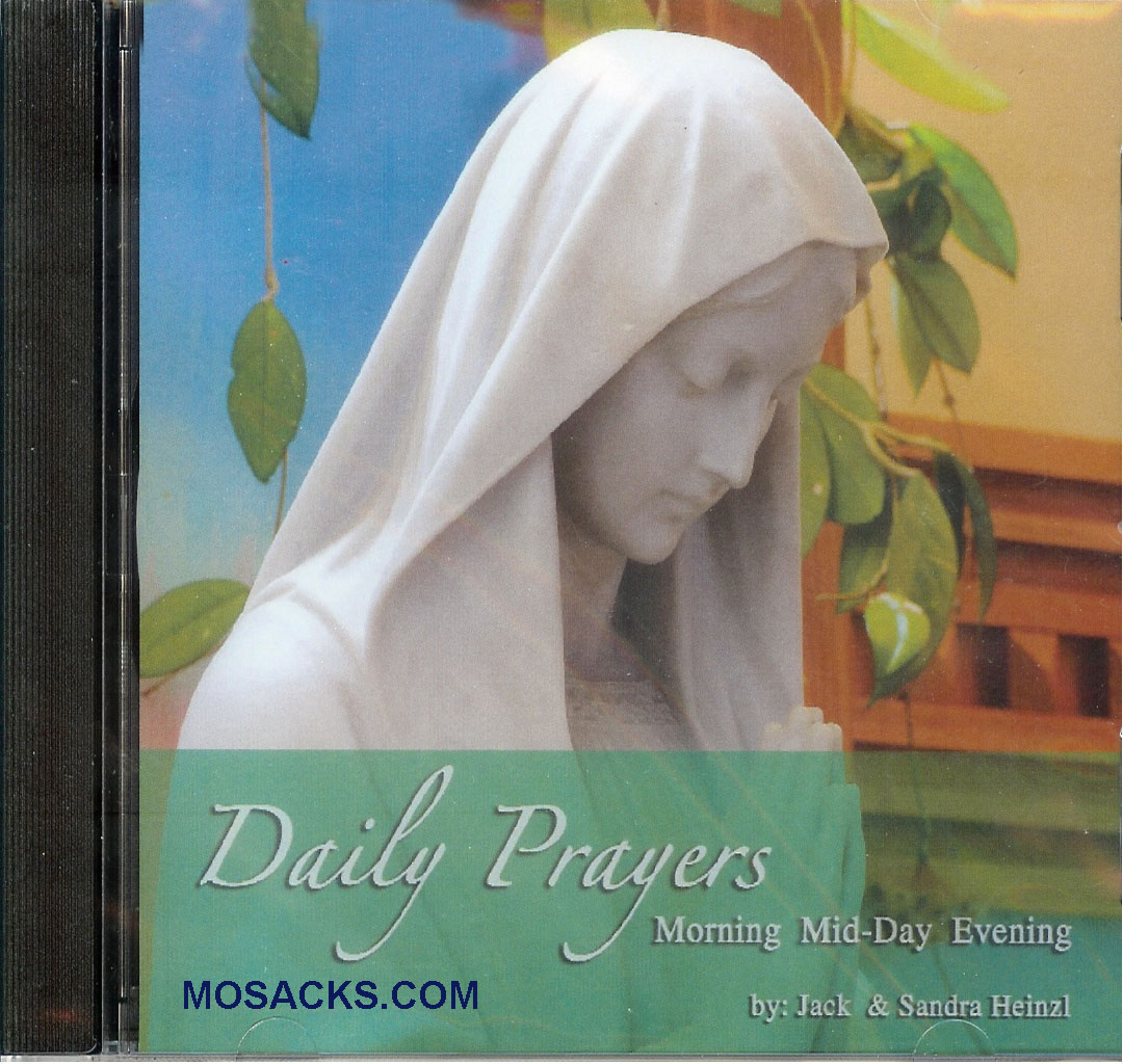 Jack and Sandra Heinzl, Artists, Daily Prayers; Music CD