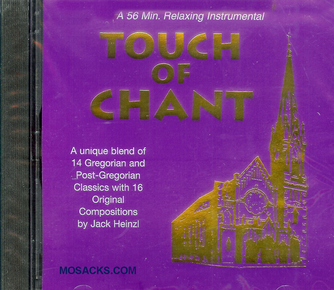 Jack Heinzl, Artist; Touch Of Chant; Music CD
