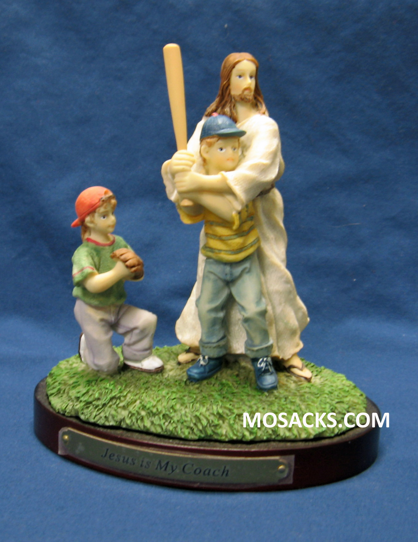 "Sports ""Jesus Is My Coach"" Baseball Figurine #13975"