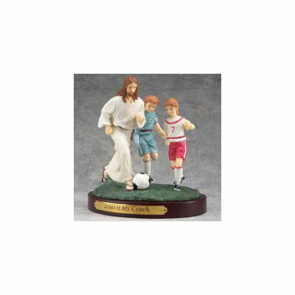 "Sports ""Jesus Is My Coach"" Hockey Figurine #13978"