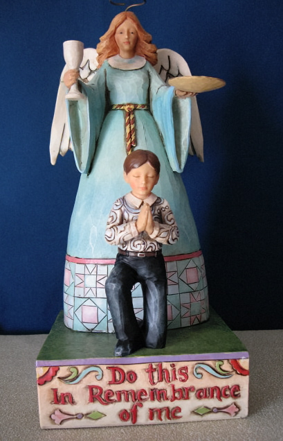 Jim Shore Do This In Remembrance Of Me #4009772 by Enesco