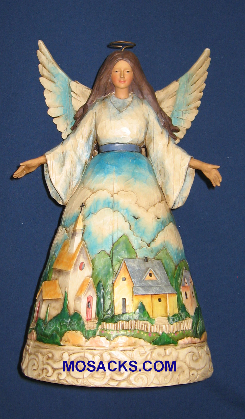 "Jim Shore Heartwood Creek 10.5"" Watcher of Villages& Valleys 258-1144080"