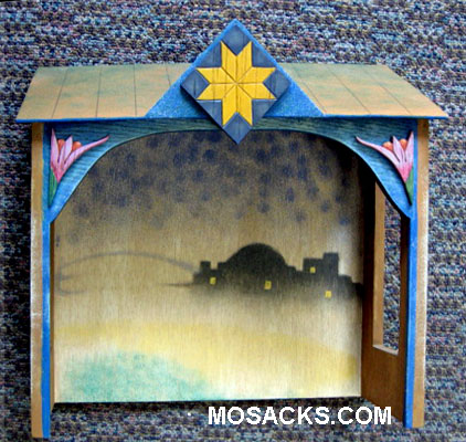 Jim Shore's Heartwood Creek Nativity Stable Creche