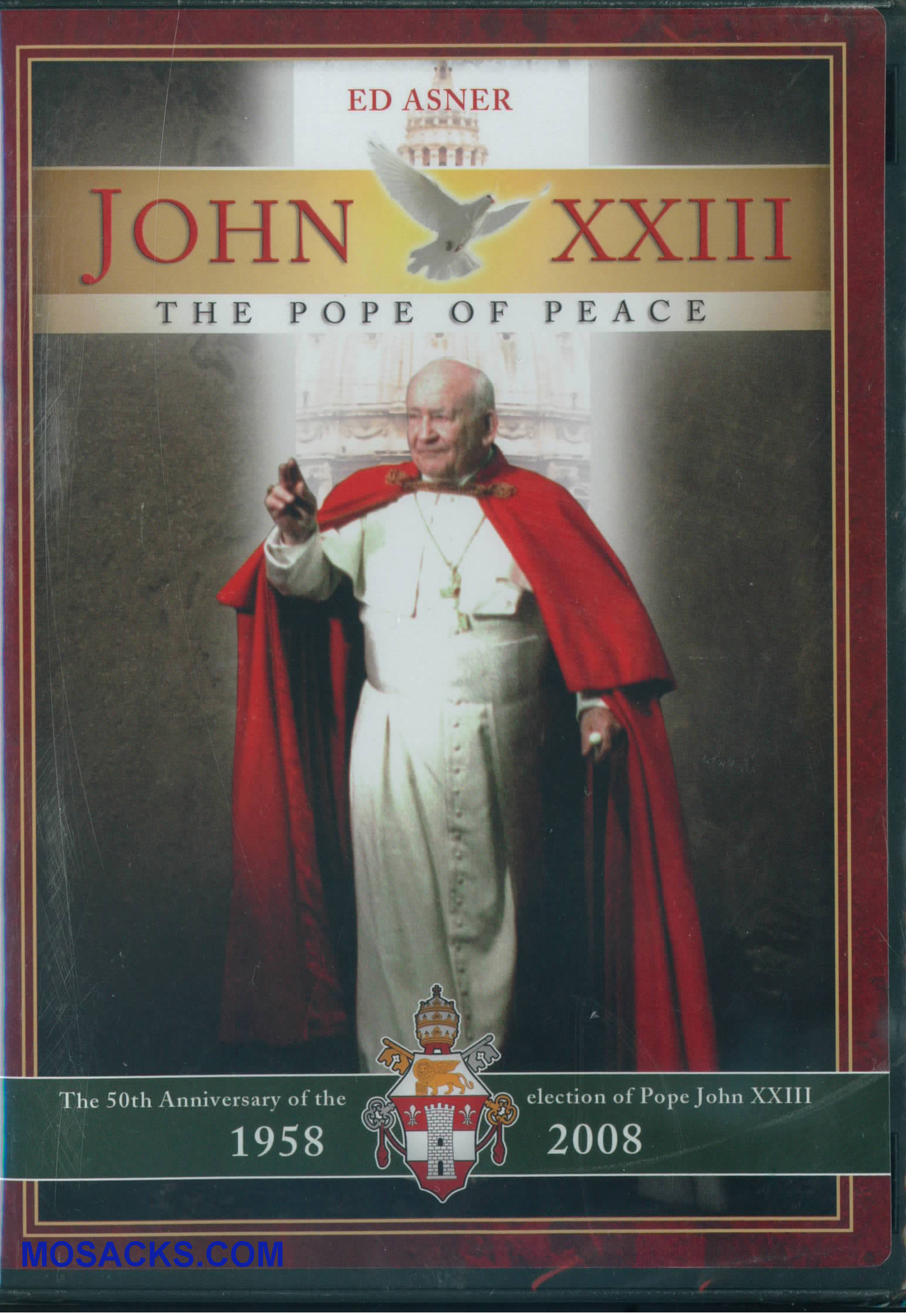 DVD-John XXIII The Pope Of Peace -J23-M