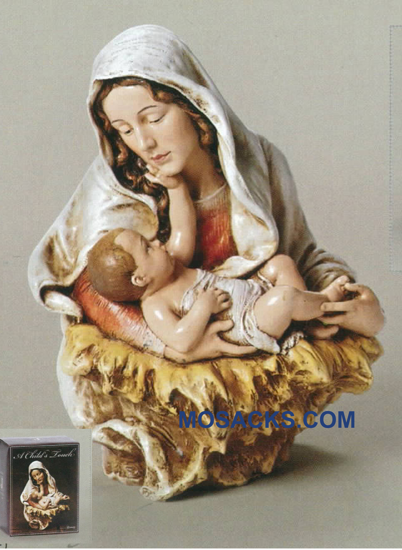 Joseph's Studio A Child's Touch Madonna & Child Bust 20-66504