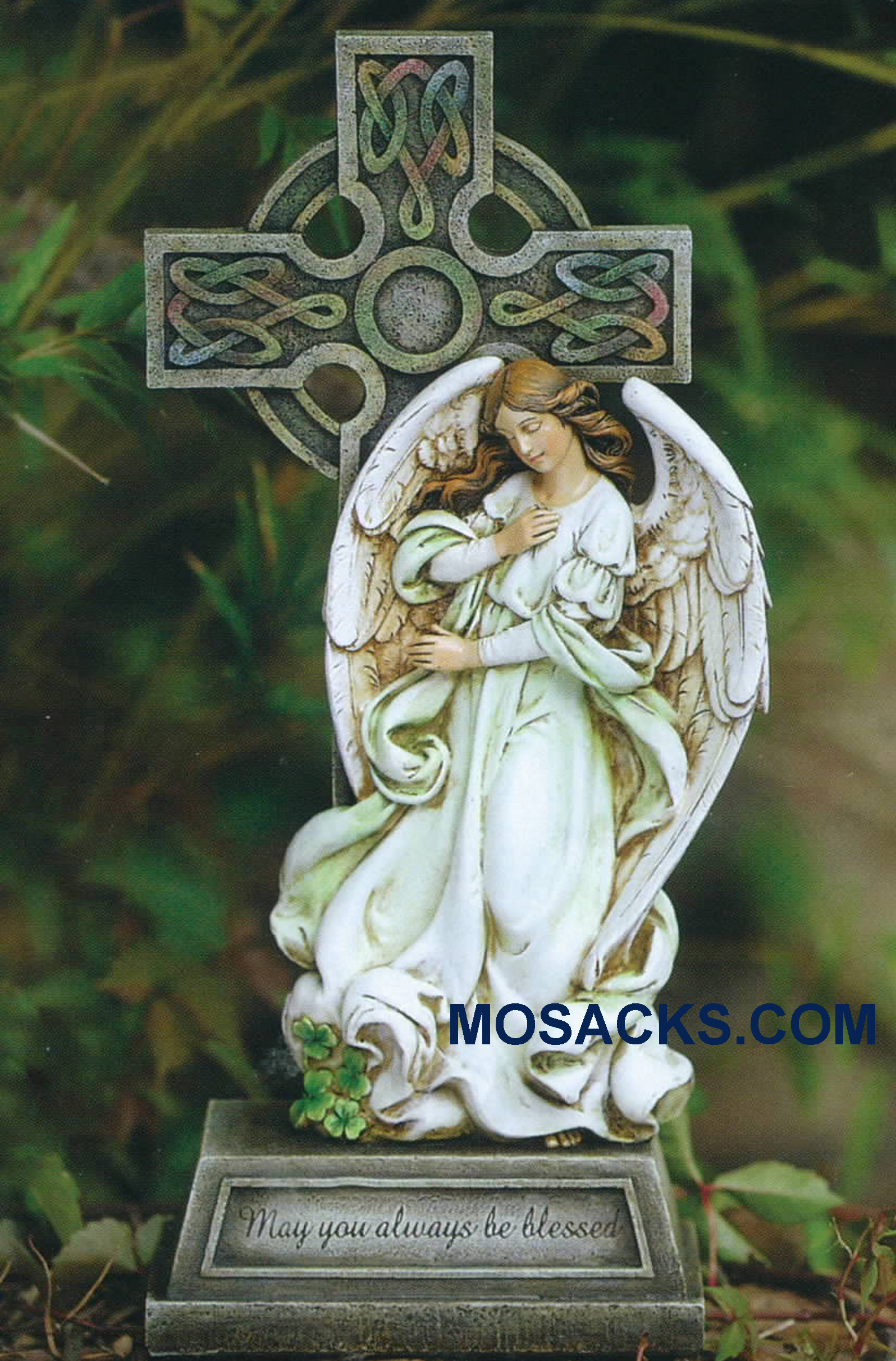 Joseph's Studio Celtic Angel Cross 62408