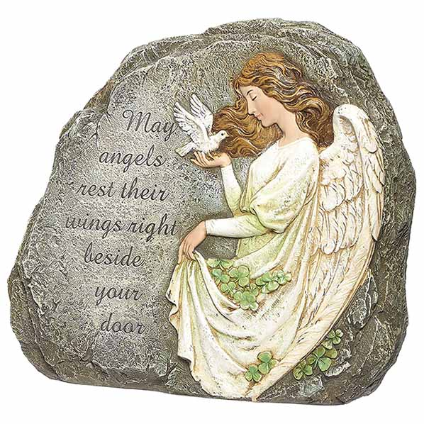 Joseph's Studio Celtic Angel Garden Stone 62407