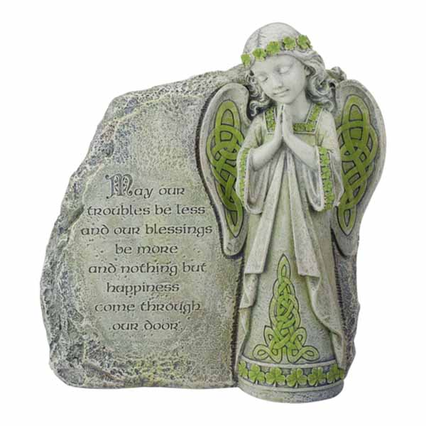 Joseph's Studio Celtic Angel Garden Stone 64378