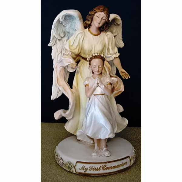 "Joseph's Studio ""Angel With Girl"" (7"") #47729 Joseph's Studio Angel with Girl Figure 47729"