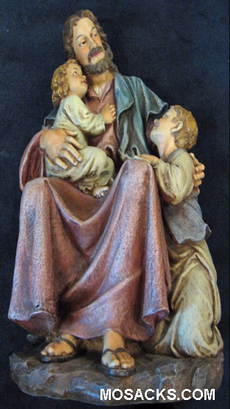 Joseph's Studio Renaissance Jesus with Children Figure #27018 Institutional Statuary