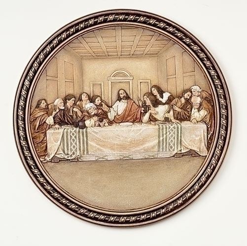 Last Supper Wall Plate Joseph's Studio Renaissance #63402