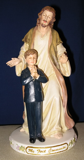Joseph's Studio My First Communion Boy/Jesus Figurine #47745 by Roman Inc