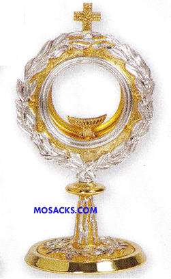"Chapel Monstrance Leaf 11-1/2"" High All-purpose Luna K679"
