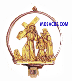 K781 Statuary Bronze Finish 14 Stations Of The Cross