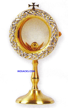 "Chapel Monstrance Crown of Thorns 9"" High All-purpose Luna K912"