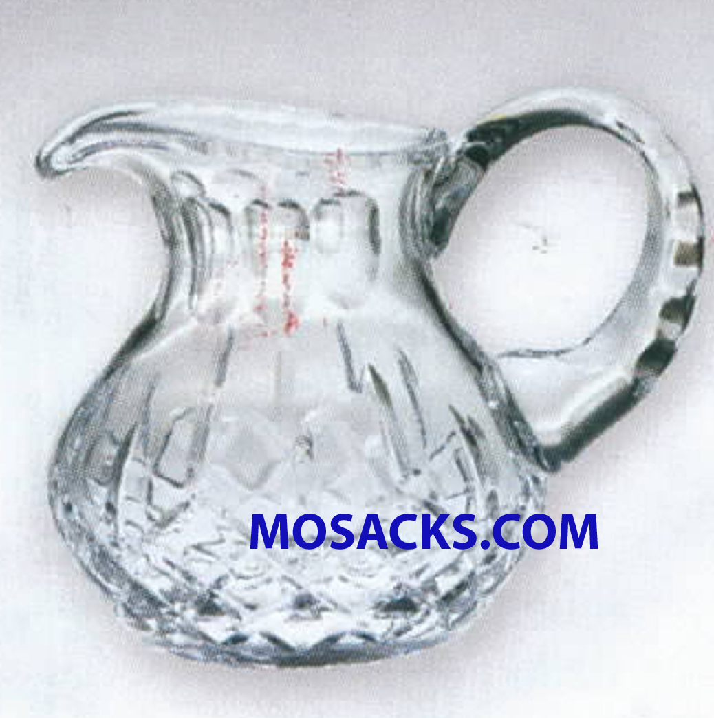 K Brand 4.75 Inch Imported Crystal Pitcher-K274