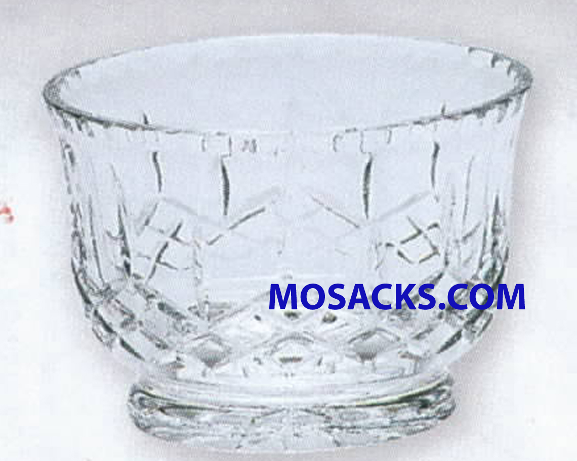 K Brand 4 Inch high Imported Crystal Bowl-K273