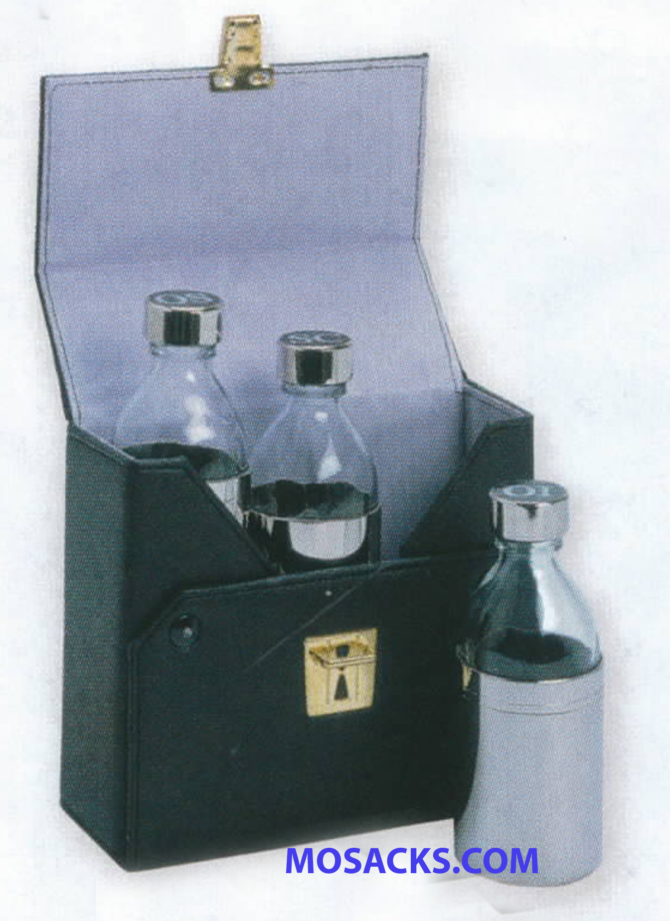 K Brand Ambry Set with 3 glass 4 oz bottles -K420
